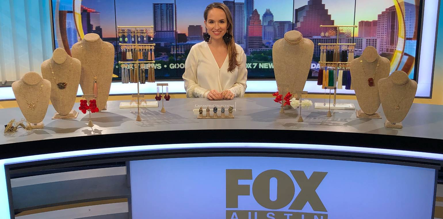 Watch CassandraCollections Founder on Good Day Austin!